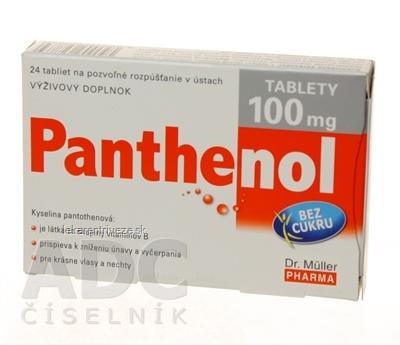 Dr. Müller PANTHENOL 100 mg tbl 1x24 ks