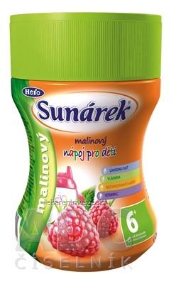 Sunárek instantný nápoj malinový (od ukonč. 6. mesiaca) 1x200 g