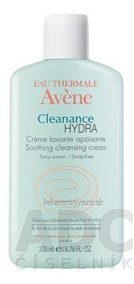 AVENE CLEANANCE HYDRA (CRÈME LAVANTE APAISANTE) upokojujúci umývací krém bez mydla (inov. 2018) 1x200 ml