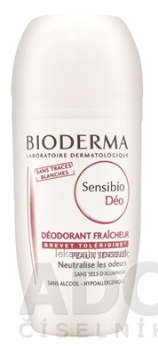 BIODERMA Sensibio DÉO DEODORANT roll-on 1x50 ml