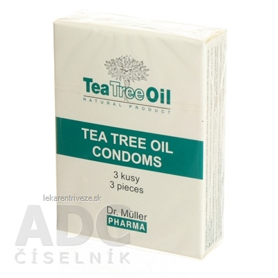 Dr. Müller Tea Tree Oil KONDOM 1x3 ks