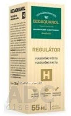 BIOAQUANOL H regulátor vlasového rastu 1x55 ml