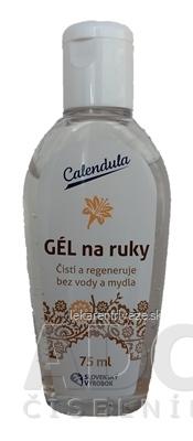 Calendula GÉL na ruky čistiaci, s extraktom kvetu ľalie bielej 1x75 ml
