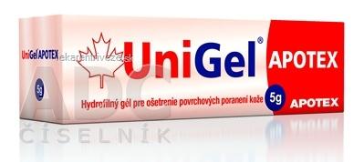 UniGel APOTEX hydrofilný gél 1x5 g