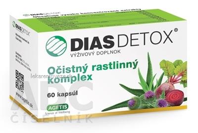 DIAS DETOX cps 1x60 ks