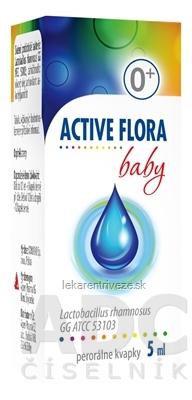 ACTIVE FLORA baby perorálne kvapky 1x5 ml