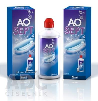 AOSEPT PLUS roztok na kontaktné šošovky 1x360 ml