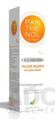 omega PANTHENOL 9% ALOE VERA telové mlieko po opaľovaní 1x250 ml