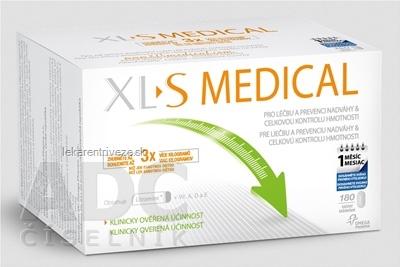XL S MEDICAL tbl (pre liečbu a prevenciu nadváhy) 1x180 ks
