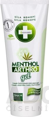 ANNABIS MENTHOL ARTHRO gel 1x200 ml