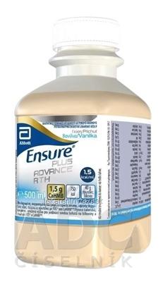 ENSURE Plus Advance RTH vanilková príchuť 1x500 ml