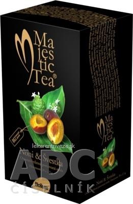 Biogena Majestic Tea Noni & Slivka ovocno-bylinná zmes 20x2,5 g (50 g)