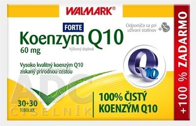 WALMARK Koenzym Q10 Forte 60 mg cps (30+30 ks) 1x60 ks