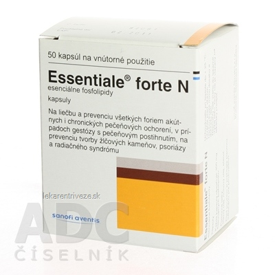 Essentiale 300 mg (Essentiale forte N) cps dur 1x50 ks