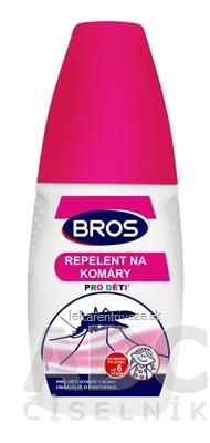 BROS repelent proti komárom pre deti 1x50 ml