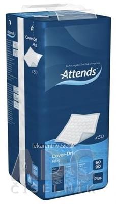 ATTENDS Cover-Dri Plus podložka inkontinenčná, savosť 1325 ml, veľkosť 60x90 cm, 1x50 ks