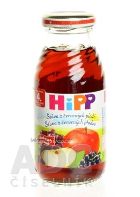 HiPP Šťava z červených plodov (od ukonč. 4. mesiaca) 1x200 ml