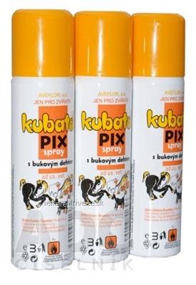 Kubatol Pix spray s bukovým dechtom, pre zvieratá, 1x150 ml