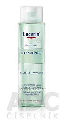 Eucerin DERMOPURE čistiaca micelárna voda problematická pleť 1x400 ml