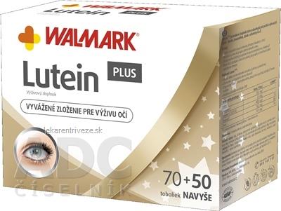 WALMARK Lutein PLUS tobolky 70+50 navyše (120 ks)