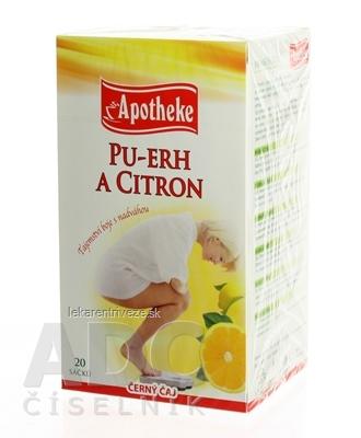 APOTHEKE PREMIER SELECTION ČAJ PU-ERH A CITRÓN 20x1,8 g (36 g)