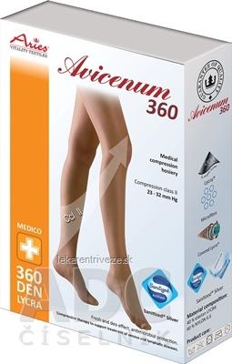 AVICENUM 360 Pančuchové nohavice, Micro veľkosť SN (1K), II.KT, Sanitized, zatvorená špica, s malým klinom, telové, 1x1 ks