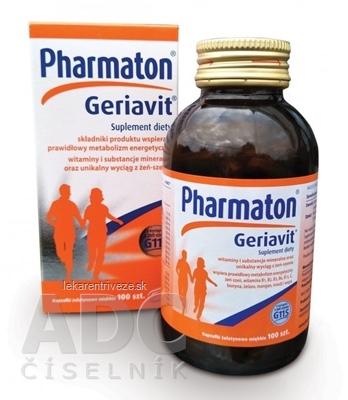 Pharmaton Geriavit cps (výživový doplnok 2018) 1x100 ks