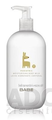 BABÉ DIEŤA Hydratačné telové mlieko (Pediatric Moisturising body milk) 1x500 ml