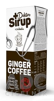 Doktor Sirup kalciový sirup s príchuťou GINGER COFFEE 1x200 ml