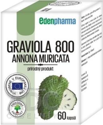 EDENPharma GRAVIOLA 800 cps 1x60 ks