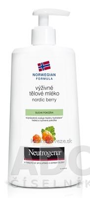 NEUTROGENA NR Výživné telové mlieko Nordic Berry 1x400 ml