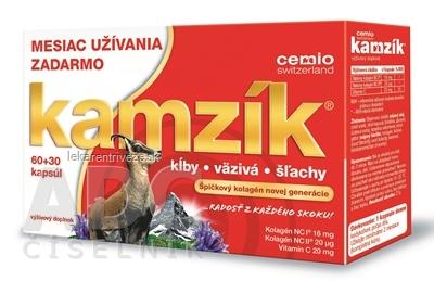 Cemio Kamzík limitovaná edícia 2020 cps 60+30 zadarmo (90 ks), 1x1 set