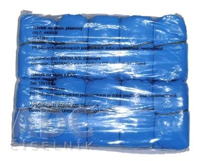 ABENA NÁVLEK NA OBUV PVC MODRÝ protišmyková úprava, hrúbka 35 mikr., 1x100 ks