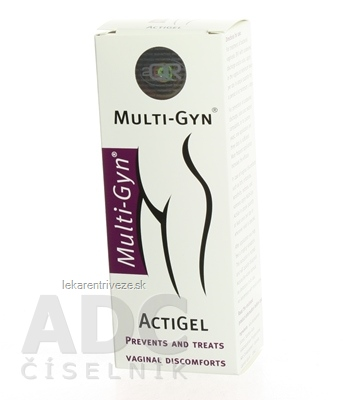 MULTI-GYN ACTIGEL gel 1x50 ml