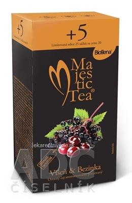 Biogena Majestic Tea Višňa & Baza ovocný čaj 25x2,5 g (62,5 g)