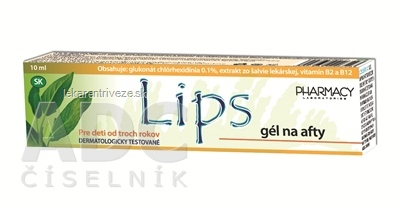 LIPS gel na afty 1x10 ml