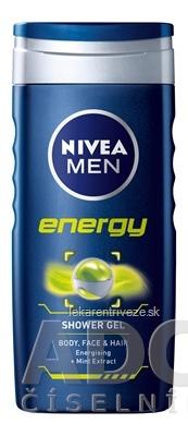 NIVEA MEN SPRCHOVÝ GÉL ENERGY 1x250 ml