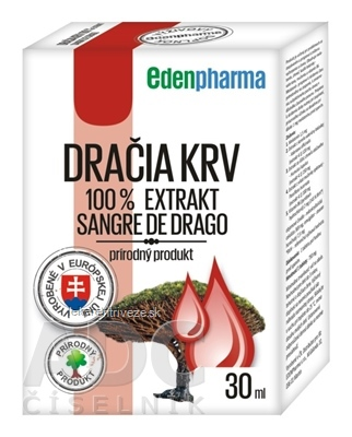EDENPharma DRAČIA KRV 100% extrakt 1x30 ml