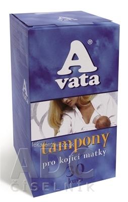 A vata MAMI tampóny pre dojčiace matky 1x30 ks