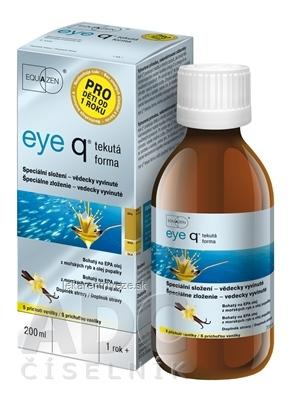 eye q tekutá forma s príchuťou vanilky 1x200 ml