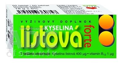 NATURVITA KYSELINA LISTOVÁ FORTE tbl 1x60 ks