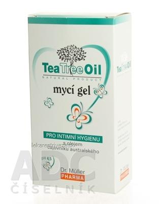Dr. Müller Tea Tree Oil UMÝVACÍ GÉL na intímnu hygienu 1x200 ml