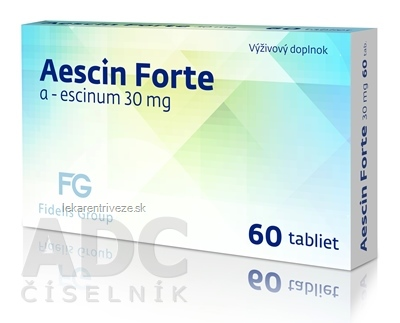 Aescin Forte 30 mg - FG tbl 1x60 ks