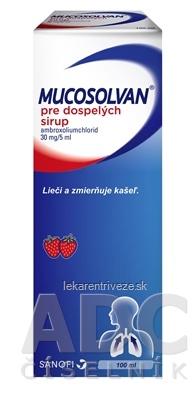 MUCOSOLVAN pre dospelých sir 30 mg/5 ml 1x100 ml