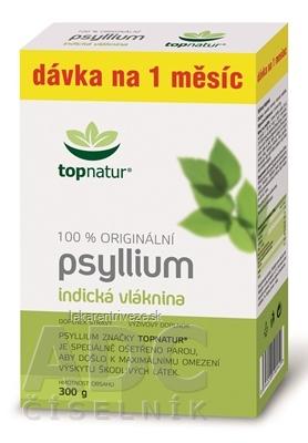 topnatur PSYLLIUM VLÁKNINA krabica prášok (dávka na 1 mesiac) 1x300 g