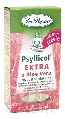 DR. POPOV PSYLLICOL EXTRA s Aloe Vera rozpustná vlaknina s príchuťou citrusov 1x100 g