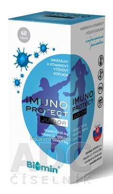 Biomin IMUNO PROTECT JUNIOR cps 1x60 ks