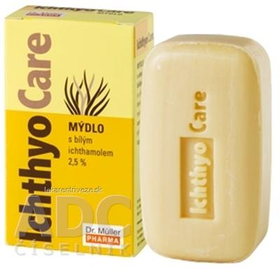 Dr. Müller IchthyoCare MYDLO s bielym ichthamolom 2,5% 1x100 g