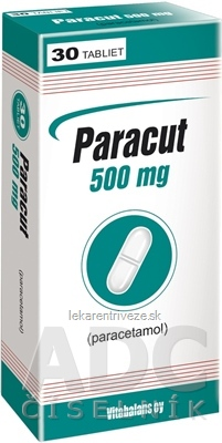 Paracut 500 mg tbl (blis.PVC/Al) 1x30 ks