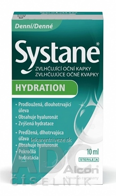 Systane HYDRATION očné kvapky 1x10 ml